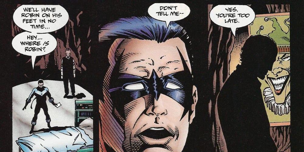 Nightwing, Alfred Pennyworth, Pandemic, Apocalypse Plague, Azrael, Bruce Wayne, Gotham City, Commissioner Gordon, DC Comics, Catwoman, Robin, Tim Drake, Jason Todd, Dick Grayson, Covid-19, Coronavirus, Quarantine, Lockdown