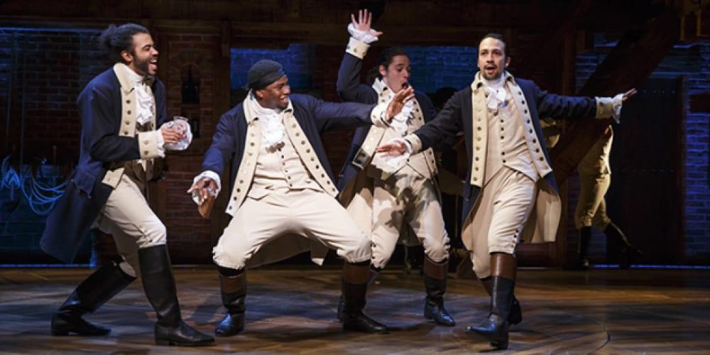 Hamilton, Filmed Hamilton, Richard Rogers Theater, Disney+, Coronavirus, Broadway, Lin Manuel-Miranda, Daveed Diggs, Alexander Hamilton, Thomas Jefferson, Lafayette, American Revolution