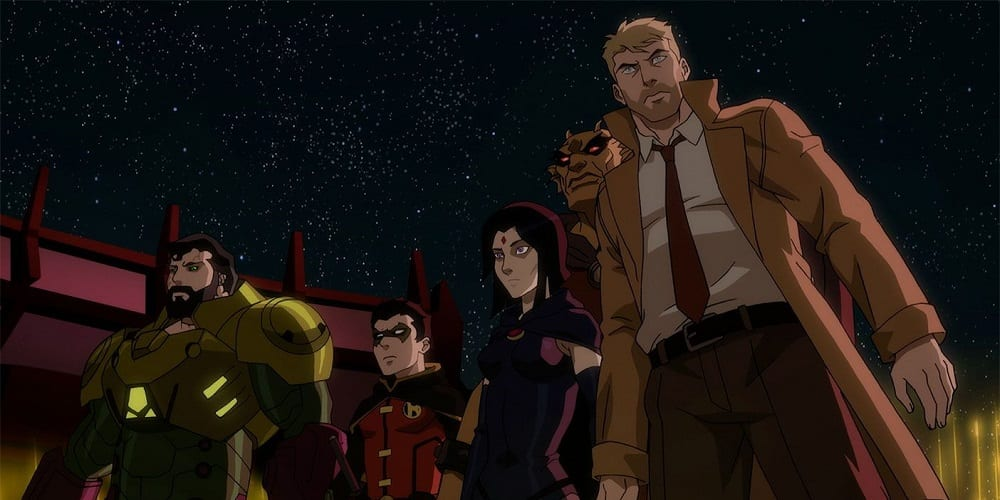 Justice League Dark Apokolips War Superman Damian Wayne Raven Etrigan John Constantine