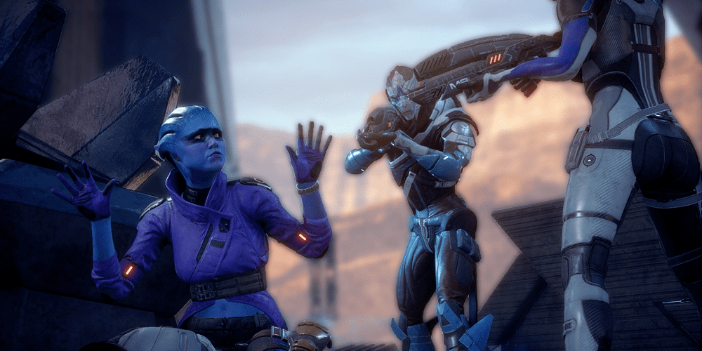 Mass Effect ANdromeda After Patch Peebee Vetra and the gang