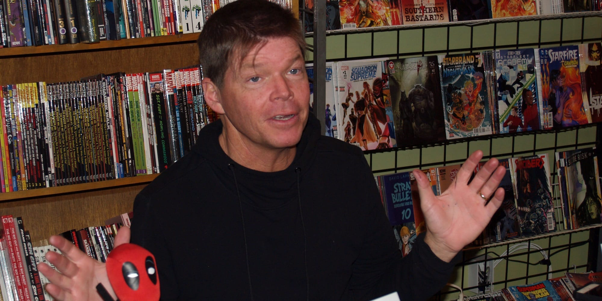 Rob Liefeld Mickey Mouse dead