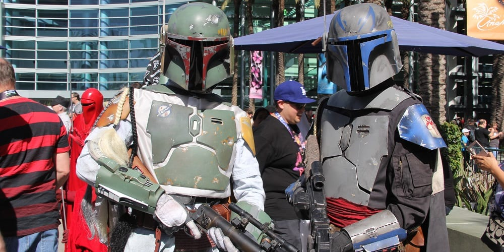 Star Wars Day Revenge of the Fifth Boba Jango Cosplay