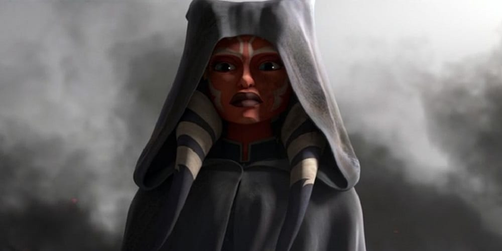 The Clone Wars Finale Ahsoka in her hood