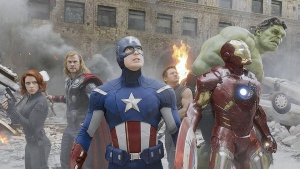 The Avengers re-release