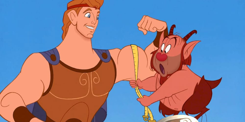 Disney's Hercules live-action movie featured image.