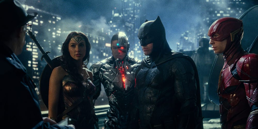 Justice League Snyder Cut release the League.