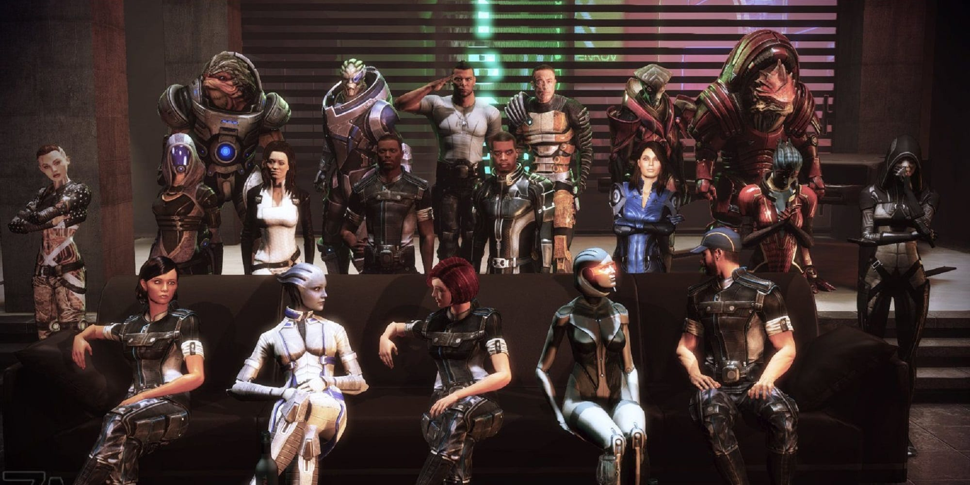 Citadel Christmas Mass 2020 The Mass Effect 3 Citadel DLC Package Is Fan Service Is Done Right