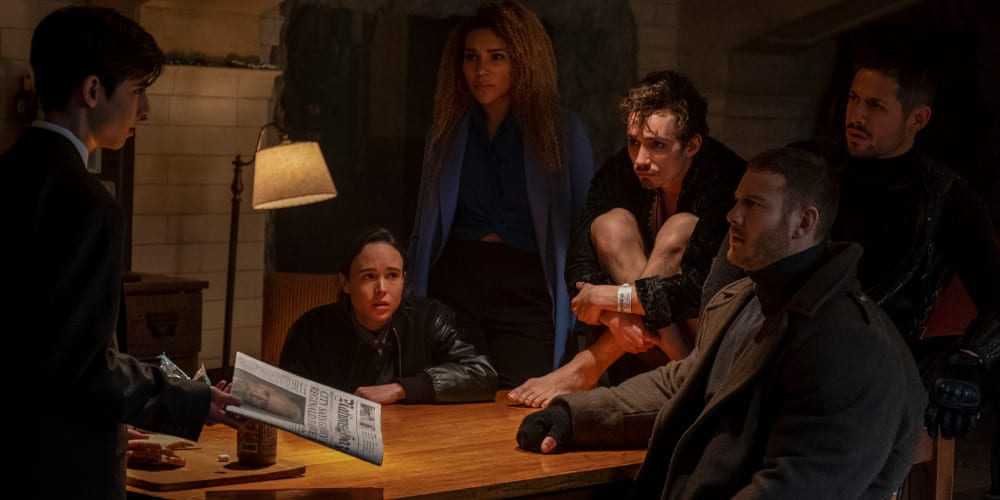 Umbrella Academy season 2 premiere date featured.