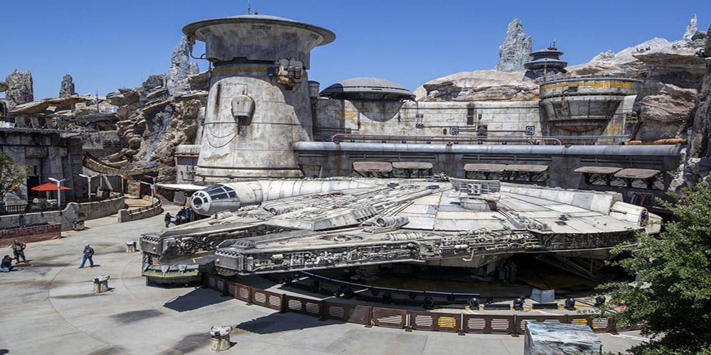 galaxy's edge VR experience