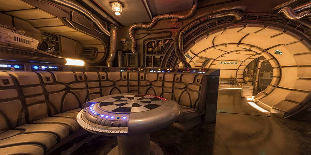 galaxy's edge VR experience