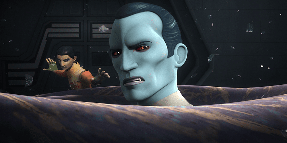 live-action thrawn actor