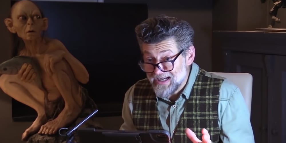 Andy Serkis Reading The Hobbit, Gandalf, Gollum, Smeagol, Coronavirus, GoFundMe, Tolkien Estate, Lord of the Rings, Middle Earth