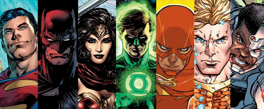 DC FanDome virtual fan event Superhero Header Featured