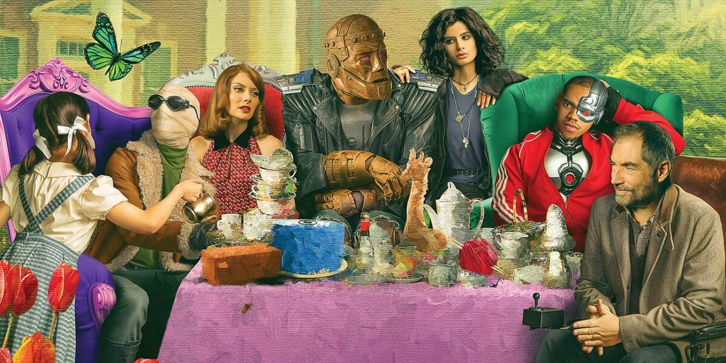 Doom Patrol Season 2 premiere Key ARt Poster Featured