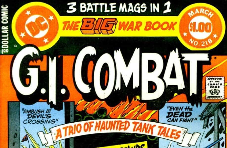 G.I. Combat by Quality Comics and DC Comics