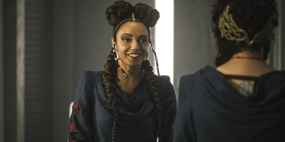 Legends of Tomorrow Saison 5 finale Maisie Richardson-Sellers Clotho