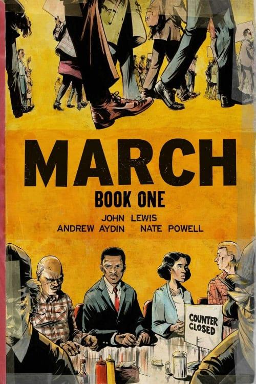 March, March Trilogy, John Lewis, Representative John Lewis, Civil Rights Era, Martin Luther King Jr, Malcom X, Racial Discrimination, Police Brutality, Black Lives Matter, George Floyd, Barrack Obama