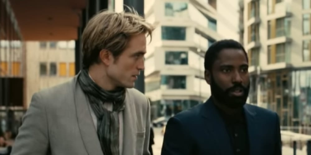 Before the Coronavirus Break, Robert Pattinson (The Batman) and John David Washington (BlakKklansman) in Tenet