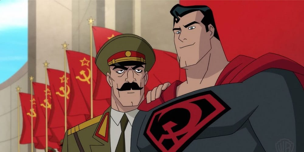 Superman Red Son DC Universe Superman Russian Guy