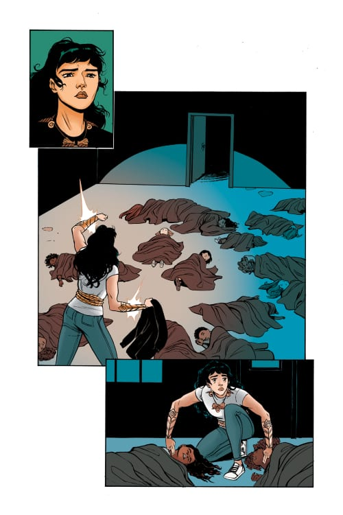 DC Comics, Diana Prince, Themyscira, DCYA, YA Fiction, Laurie Hale Anderson, Leila Del Duca, Social Justice Issues