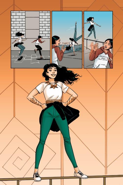 Wonder Woman: Tempest Tossed, DC Comics, Diana Prince, Themyscira, DCYA, YA Fiction, Laurie Hale Anderson, Leila Del Duca