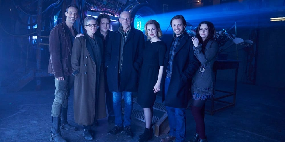 Word of the Witnesses podcast 12 Monkeys Cast with Christopher Lloyd