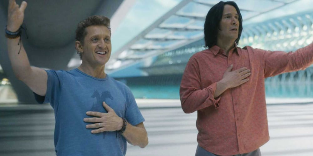 Bill And Ted 3 teaser daughters Reeves & Winter Updated Movie Release Dates