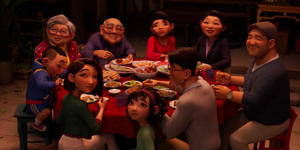 Netflix's Over The Moon trailer family.