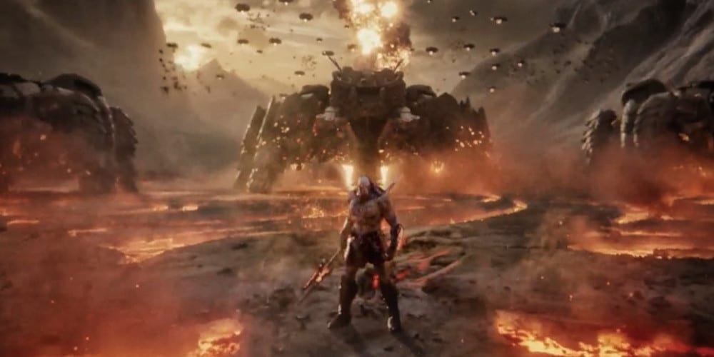 what's in the Snyder Cut Darkseid