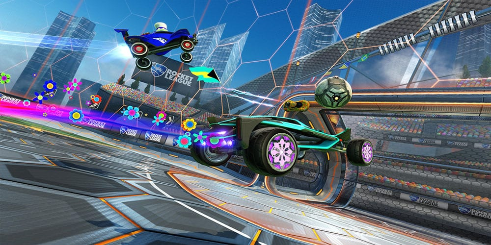 rocket league is free