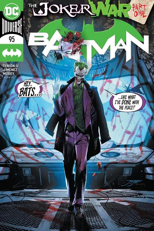 What Comics Should I Read In July, Batman, Joker, Joker War, James Tynion IV, Tom King, Catwoman, Robin, Bat Family, Jorge Jimenez