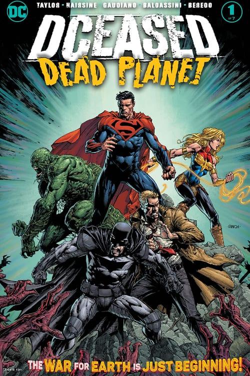 DCeased, DCeased: Dead Planet, DCeased: Hope at Worlds End, DCeased: Unkillables, Superman, Batman, Tom Taylor, Wonder Woman, Swamp Thing, Constantine, Earth 2