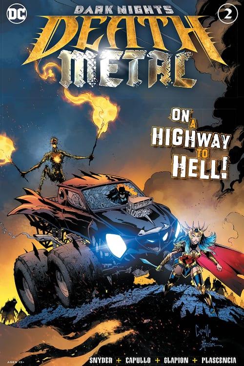 What Comics Should You Read In July, Wonder Woman, the Batman Who Laughs, Lobo, Dark Multiverse, Scott Snyder, Greg Capullo, Swamp Thing, Harley Quinn, Dr Bathattan