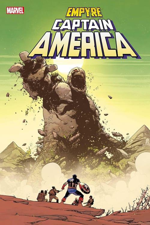 Marvel's Empyre August Checklist, Captain America, Allied Forces, Avengers, Fantastic Four, Kree, Skrulls, Marvel Comics, Al Ewing, Dan Slott