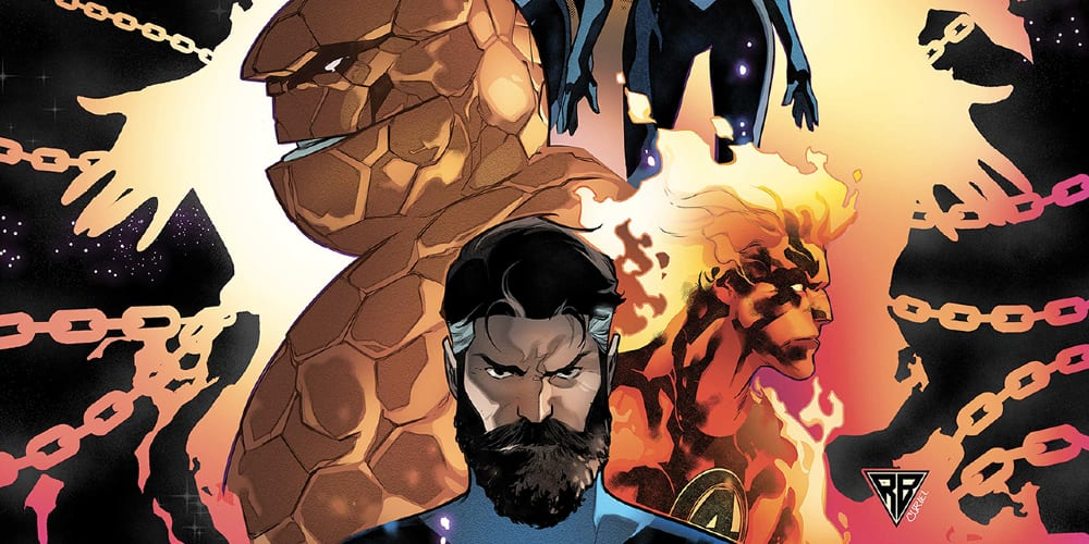 Empyre, Fantastic Four, SDCC at Home, Marvel's Next Big Thing, Reed Richards, Human Torch, Invisible Woman, Thing, Ben Grimm, Avengers, Kree, Skrulls
