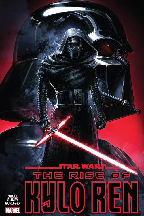 Marvel Comics You Should Read in July, Star Wars, Sequel Trilogy, Ben Solo, Star Wars: Rise of Kylo Ren, Kylo Ren, Han Solo, Luke Skywalker, Leia Organa, Poe, Finn, Rey, Force Awakens, Last Jedi, Rise of Skywalker, Charles Soule