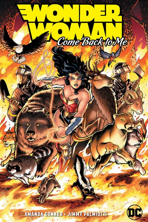 What Comics Should You Read In July, Wonder Woman, Steve Trevor, Amanda Conner, Jimmy Palmiotti , Wonder Woman 1984, Etta Candy