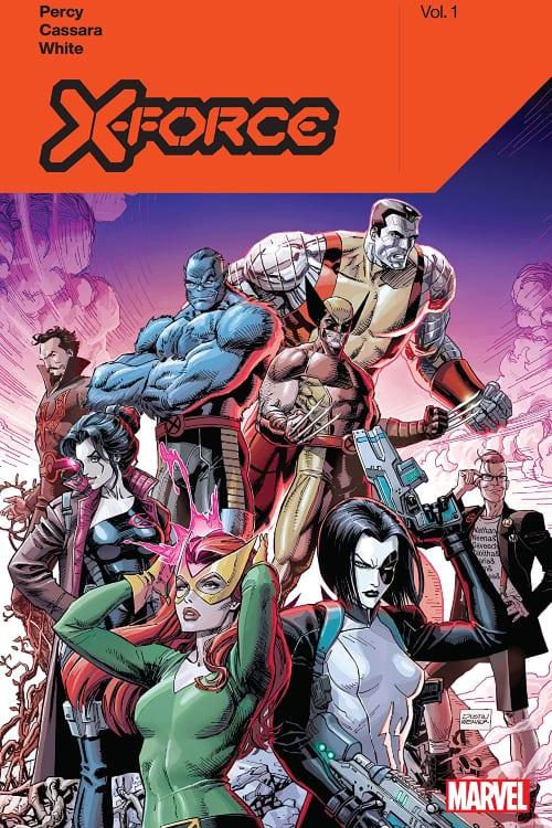 Benjamin Percy, X-Men, X-Force, Wolverine, Beast, Domino, Colossus, Jean Grey, Dawn of X, Jonathan Hickman, Professor X, CIA
