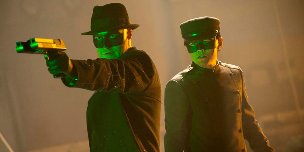 Kevin Smiths The Green Hornet series Rogen.