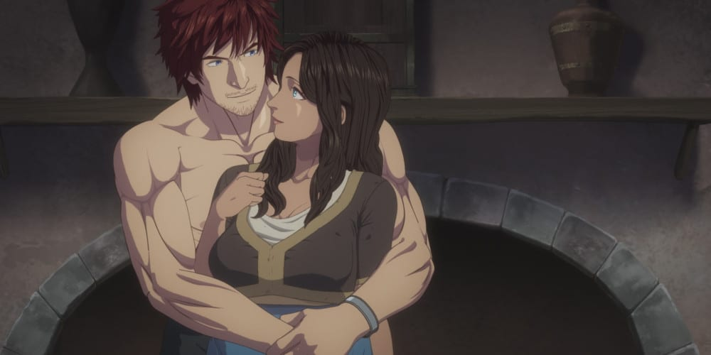 Netflix's Dragon's Dogma Anime Series couple.
