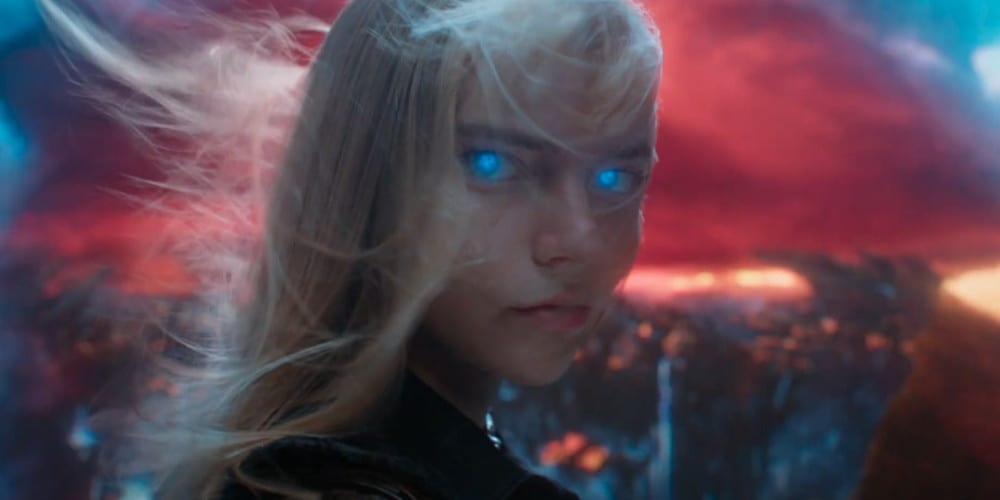 New Mutants Comic Con At Home trailer featured Illyana.