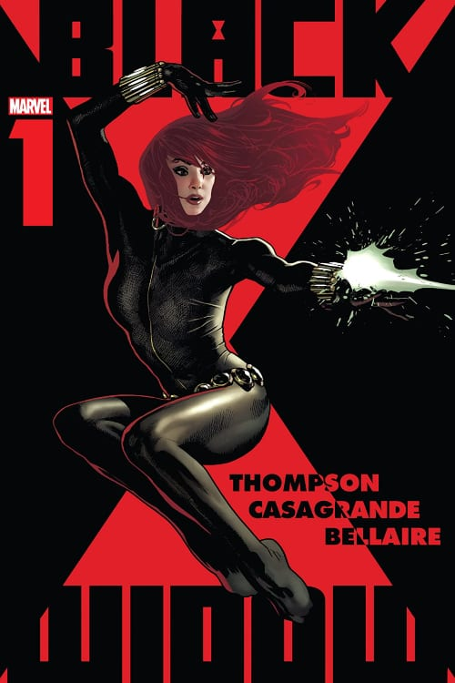 What single issue Marvel Comics You Should Read This September, Black Widow, Kelly Thompson, ELENA CASAGRANDE, Scarlet Johannsson, MCU, Avengers