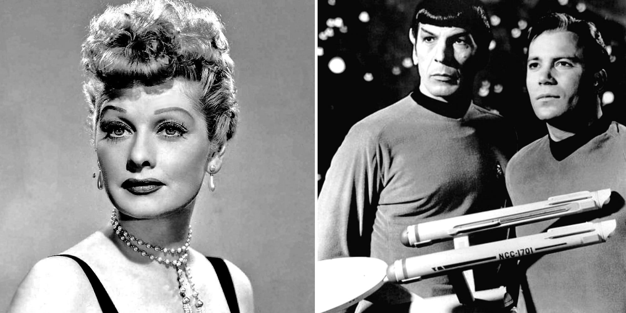 Lucille Ball Star Trek Birthday Featured part 2 public domain