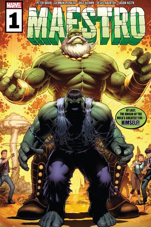 Maestro, Incredible Hulk, Peter David, Bruce Banner, Future Imperfect, Wolverine, Origin Story