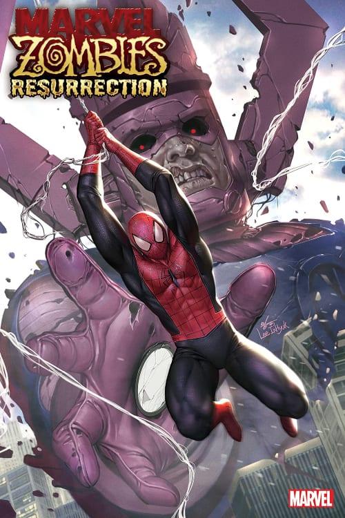 Spider-Man, Galactus, Marvel Zombies Resurrection, Phillip K. Johnson, Leonard Kirk, In-Hyuk Lee, Robert Kirkman, Walking Dead