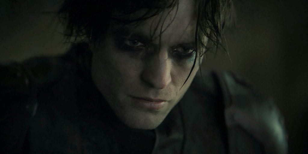 Matt Reeves' The Batman DC FanDome Trailer Still Robert Pattinson Actually Owning Up to the Eye Paint