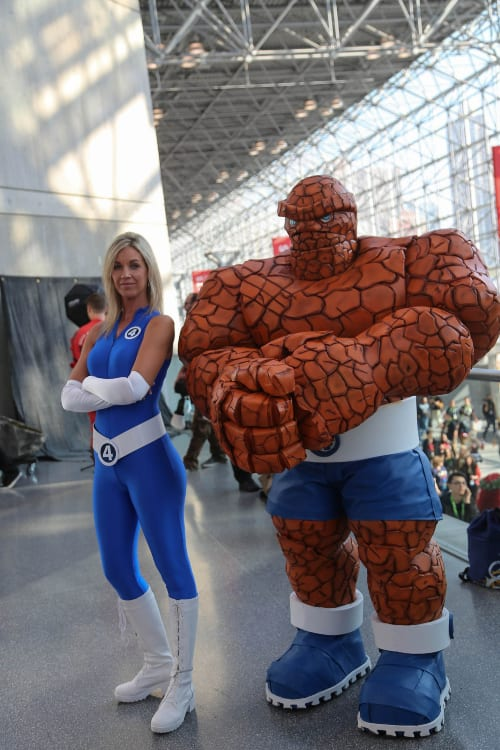 Fantastic Four, NYCC 2020 Virtual Edition, Invisible Woman, Human Torch