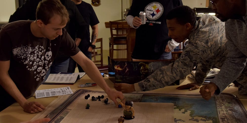 Tabletop Games Technology COVID DnD US Airforce Go Steelers Public Domain