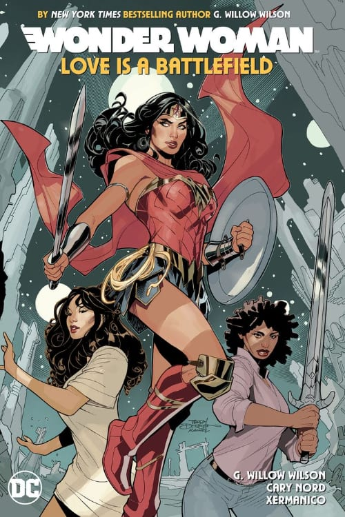 Wonder Woman, G. Willow Wilson, Terry and Rachel Dodson, Ares, Aphrodite, Amazons, Invisible Kingdoms, Ms. Marvel Kamala Khan