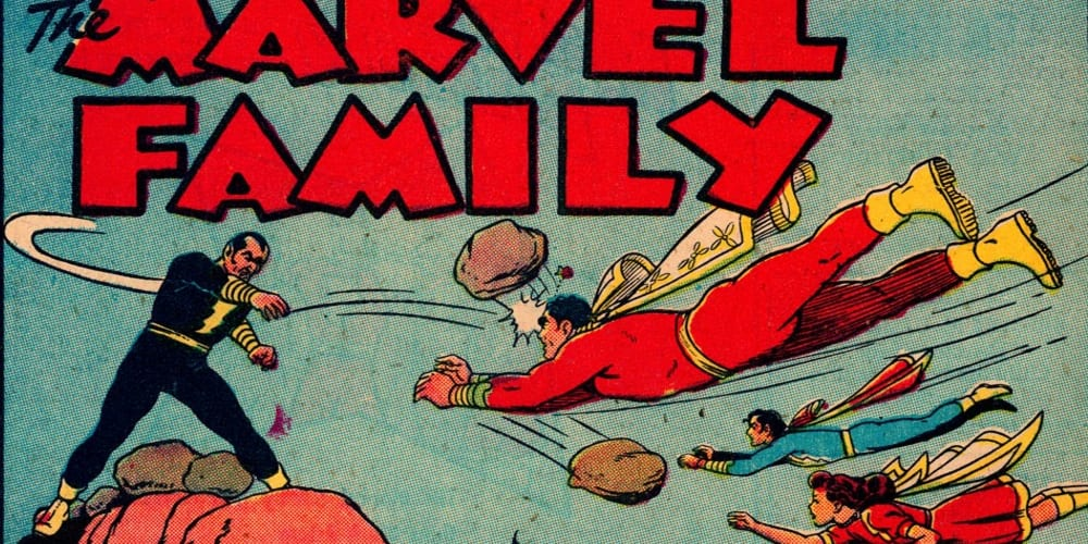 Justice Society, Shazam, Marvel Family, Billy Batson, Fawcett Comics, DC Comics, The Rock, Dwayne Johnson, Kahndaq